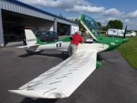 July 2012 Flight test programm for Vortex Generato
